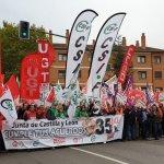 Concentración por la Recuperación de la Jornada Laboral de 35 horas y la Carrera Profesional para todos los Empleados Públicos de Castilla y León 5
