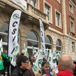 CSIF sale este jueves a la calle para exigir al Gobierno que la subida salarial de los empleados públicos se ingrese en enero 2
