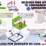 Decálogo para afrontar el confinamiento por coronavirus (II)