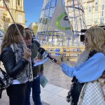 Concetración de CSIF en Delegación de Gobierno de Ceuta