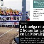 La huelga retrasa 2 horas las visitas en La Moraleja (Diario Palentino)