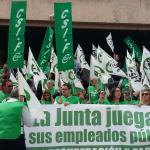 CSIF Andalucía | Movilización por la recuperación de derechos recortados en Málaga