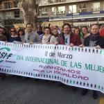 Manifestación 8 Marzo 2017 CSIF Granada