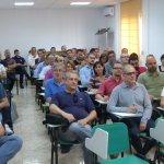 Responsables y delegados sindicales en la Jornada interna de formación celebrada en la ciudad de Murcia.