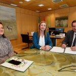 Reunión CSIF Granada Diputación provincial