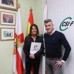 Sheila Herrero en CSIF