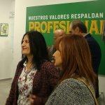 El presidente nacional de CSIF valora la subida salarial de los empleados públicos en su visita a a la nueva sede de Granada