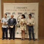 Fotografía de familia Ganadores I Certamen Empleado Público Granada
