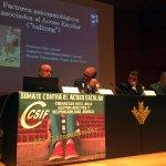 Jornadas Acoso Escolar CSIF Granada 2017 Mesa Debate