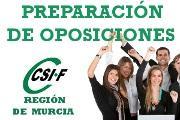 CSI.F Murcia: Preparación de Oposiciones para afiliados a CSI.F.