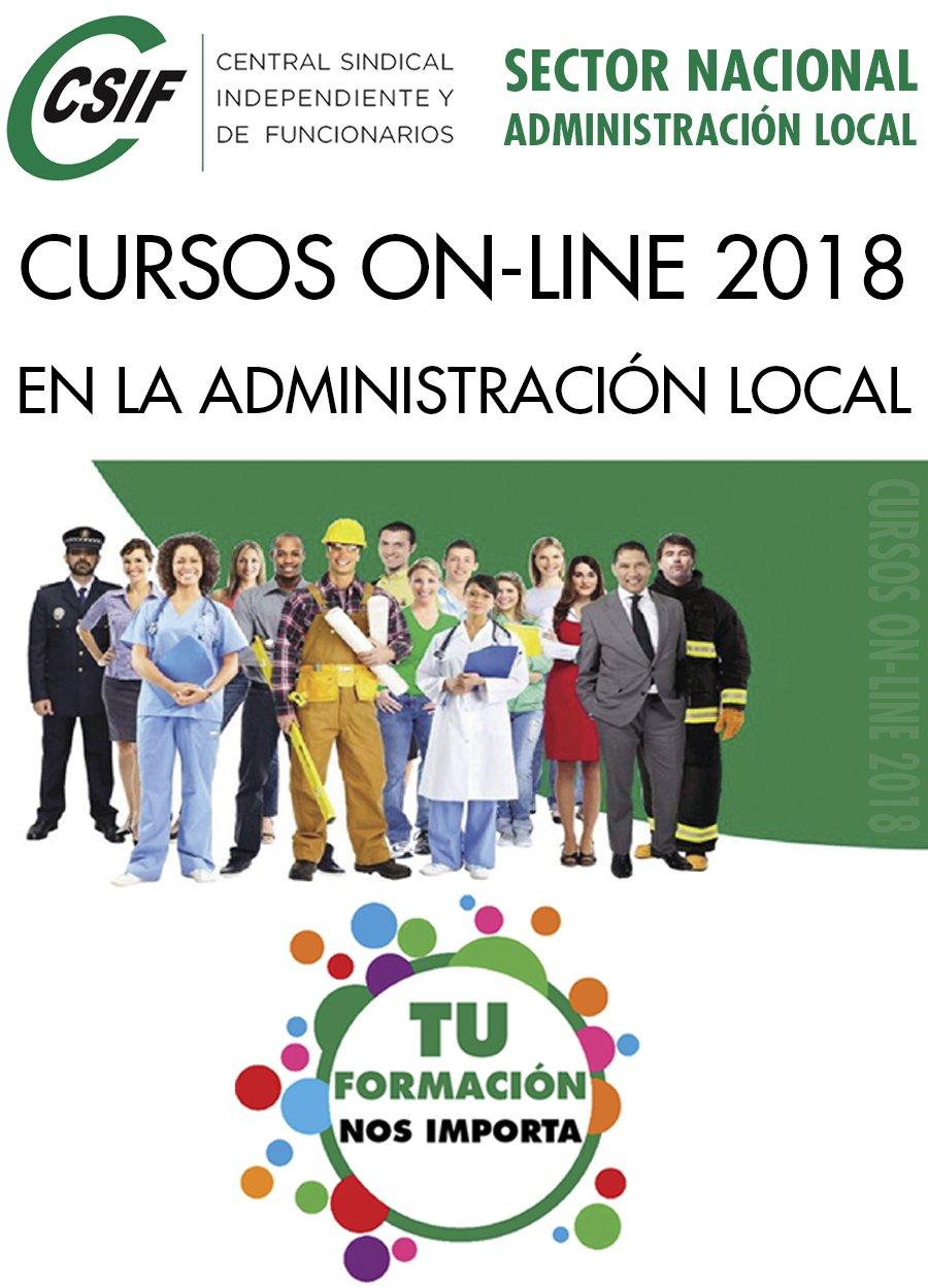 CURSOS ON-LINE CSIF 2018 PARA AFILIADOS