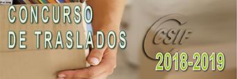 CONCURSO DE TRASLADOS 2018-2019