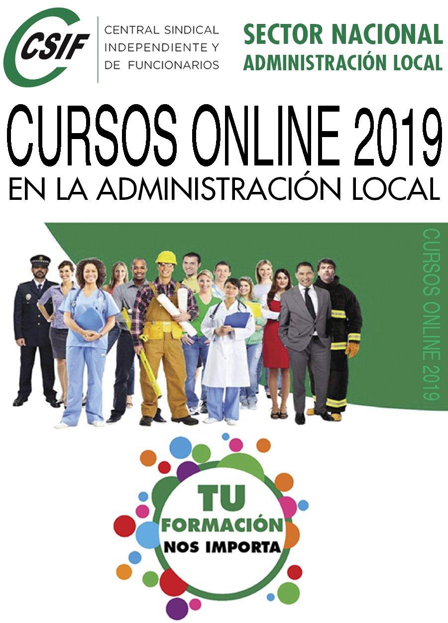 CURSOS ONLINE CSIF 2019 PARA AFILIADOS