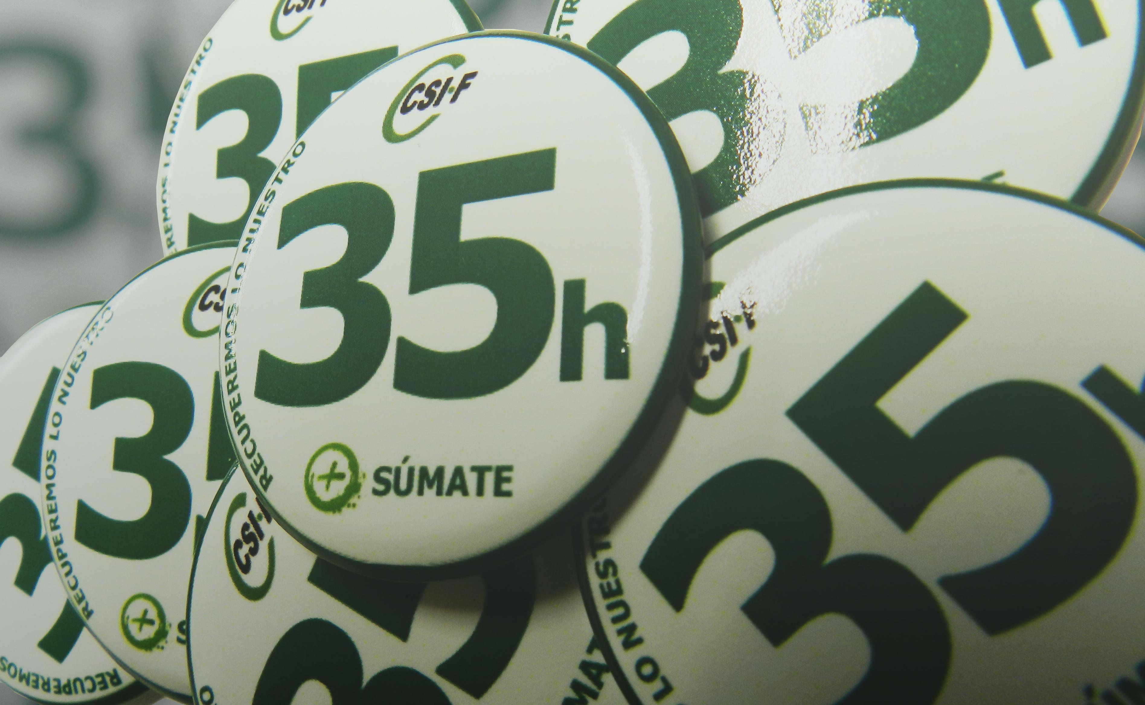 Campaña CSIF 35 horas