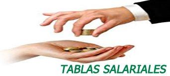 TABLAS SALARIALES
