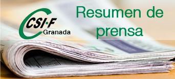 Resumen de prensa CSIF Granada