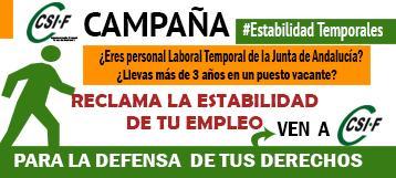 Campaña Estabilidad Laborales Temporales