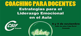 Jornadas Coaching para docentes