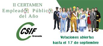 Votaciones II Certamen del Empleado/a Público/a del Año en Granada