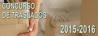 TODO SOBR EL CONCURSO DE TRASLADOS 2015-2016