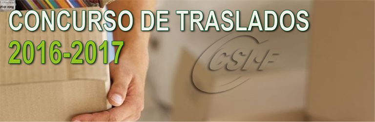 TODO SOBR EL CONCURSO DE TRASLADOS 2016-2017