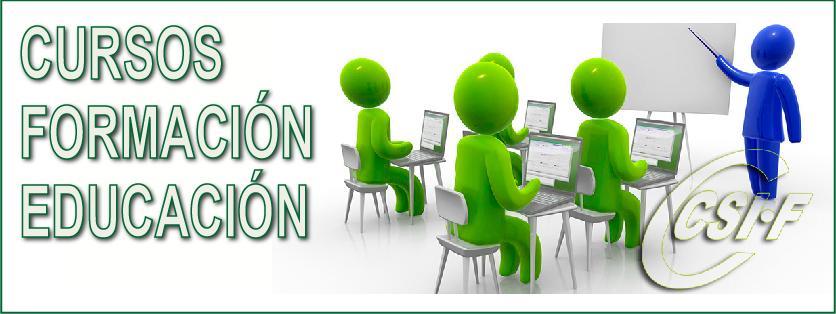 Cursos de Formación del Sector de Educación 2015-2016