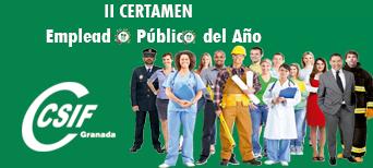 II Certamen del Empleado/a Público/a del Año en Granada
