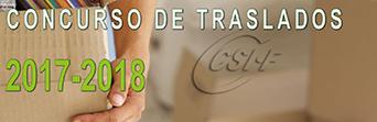 TODO SOBR EL CONCURSO DE TRASLADOS 2017-2018