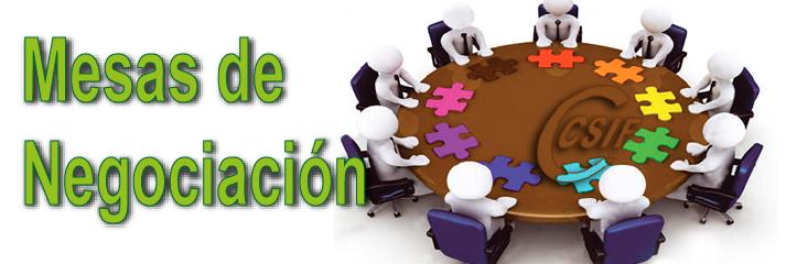 Mesas de Negociación