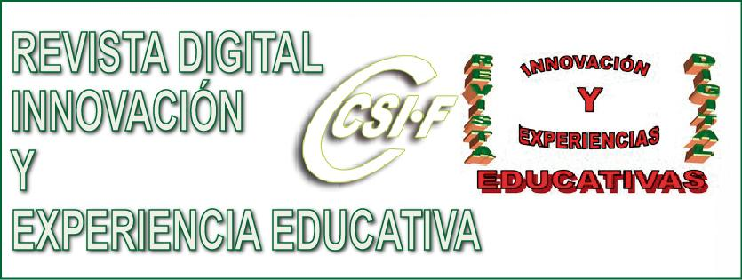 "Revista Digital ""INNOVACIÓN Y EXPERIENCIA EDUCATIVA"""