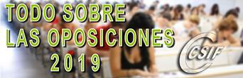 TODO SOBRE LAS OPOSICIONES 2019