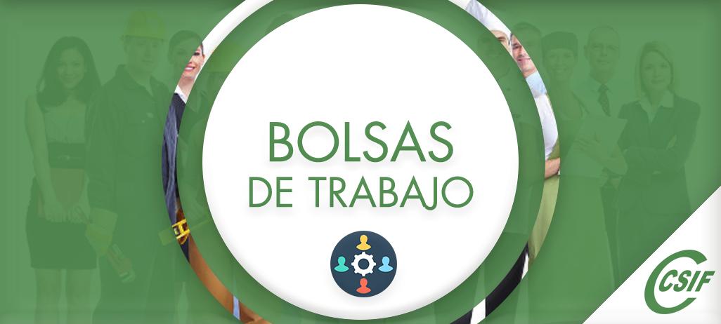 BOLSAS DE TRABAJO EDUCACIÓN