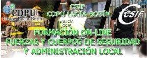 FORMACIÓN FUERZAS Y CUERPOS DE SEGURIDAD Y ADMINISTRACIÓN LOCAL