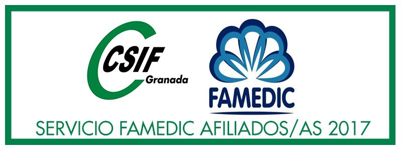 Nuevo servicio sanitario FAMEDIC para afiliados/as
