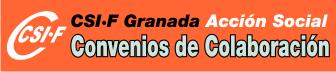 CSIF Granada - Accion Social - Convenios de Colaboración