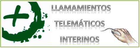 Llamamientos telemáticos de interinos.