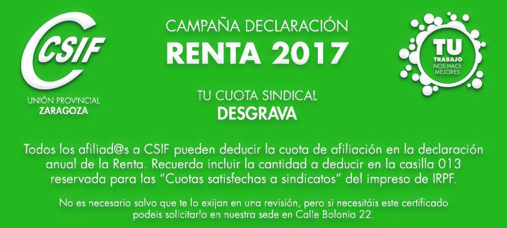 TU CUOTA DESGRAVA: RENTA 201