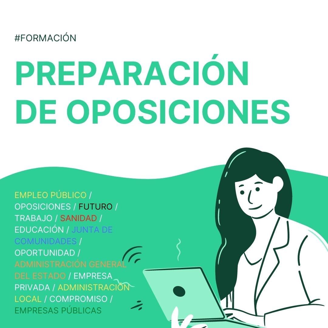 Preparación de oposiciones CSIF Castilla-La Mancha