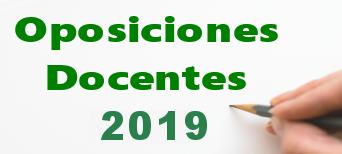 Oposiciones 2019