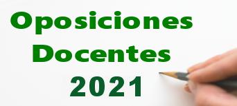 Banner Oposiciones Docentes 2021