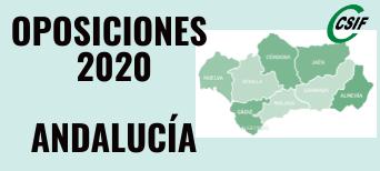 Oposiciones Andalucía 2020