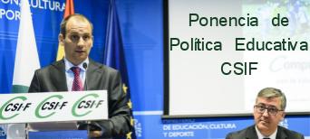 Ponencia de Política Educativa Noviembre 2015