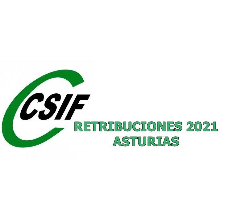 RETRIBUCIONES ASTURIAS 2021