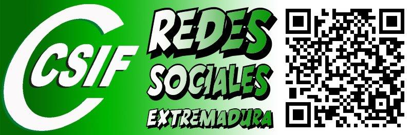 REDES SOCIALES CSIF EXTREMADURA