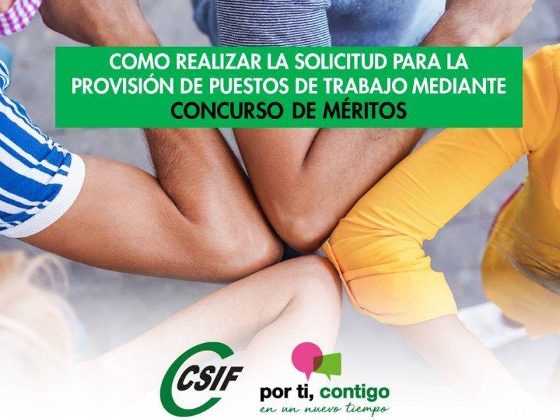 COMO REALIZAR LA SOLICITUD PARA PARTICIPAR EN EL CONCURSO DE MERITOS