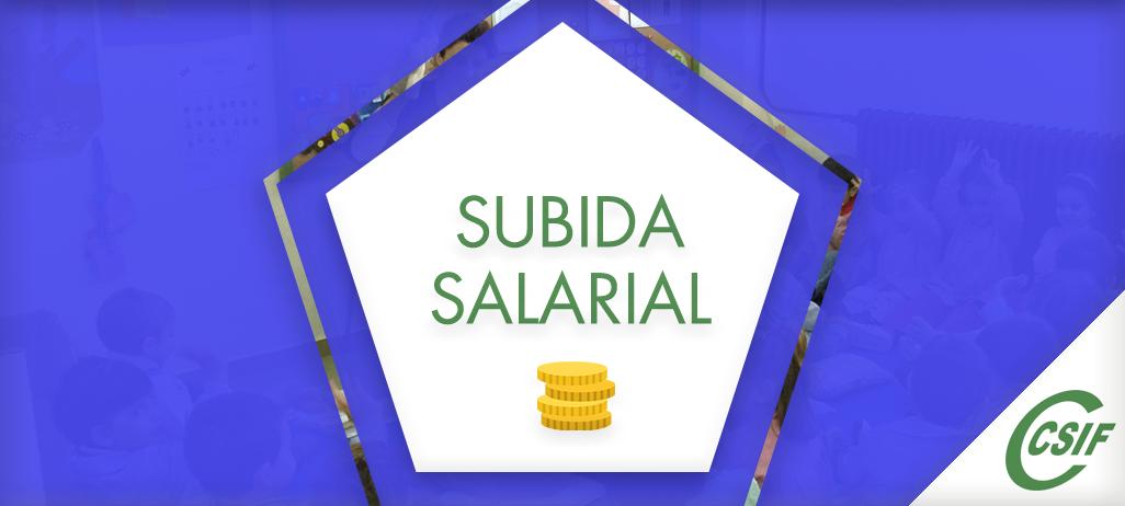 SUBIDA SALARIAL 2018-19-20