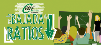 CSIF, por la bajada de ratios
