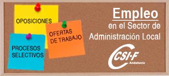 Empleo en Administración Local