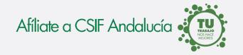 Afíliate a CSIF-A