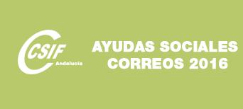 CSIF Andalucía | Ayudas sociales 2016 en Correos